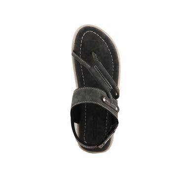 Bacca Bucci Leather  Sandal  Bbme6007I -grey