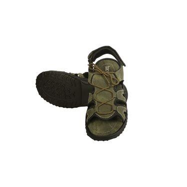 Bacca Bucci Textile  Sandals Bbme6017G -Olive
