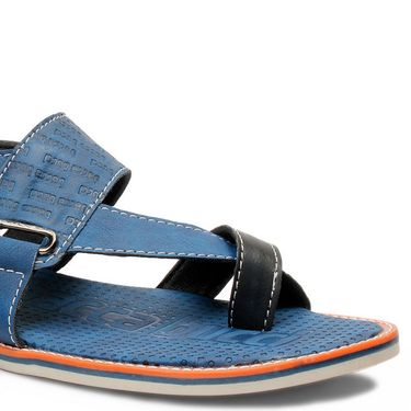Bacca Bucci Artificial Leather  Blue Sandals -Bbme6056B