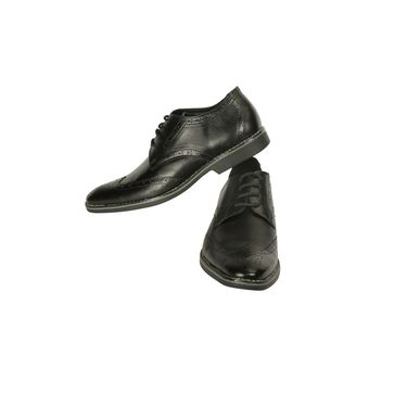 Bacca bucci Leather  Formal Shoes Bb016 _Black