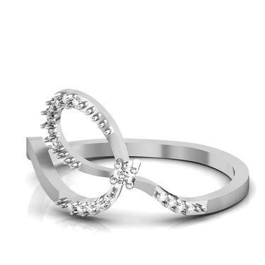 Avsar Real Gold & Swarovski Stone Kirti Rings_B037wb