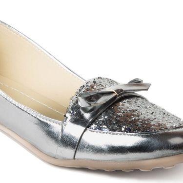 Branded Suede Leather Ballerinas BLS-008-SL