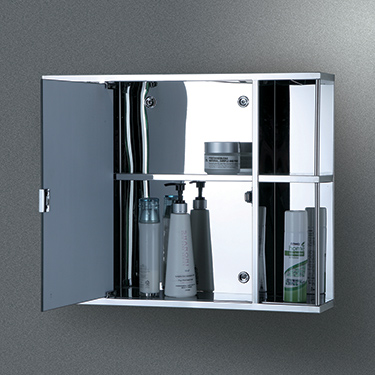 Steel bathroom cabinet