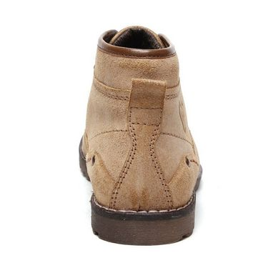 Delize Leather Casual Shoes Bronz-Beige