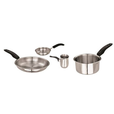 Brilliant 8pcs Stainless Steel Induction Friendly Cookware Set_BSC8008