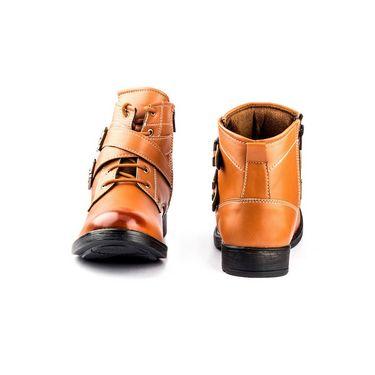 Kohinoor Footwears Nubuck Leather Boots BT097_Tan