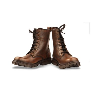 Bacca bucci Leather  Boots-Brown