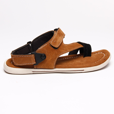 Bacca bucci Leather Sandals - Brown-4312