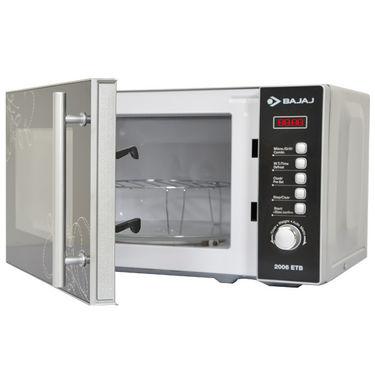 Buy Bajaj 2006etb Modern Design 20ltrs Microwave Oven