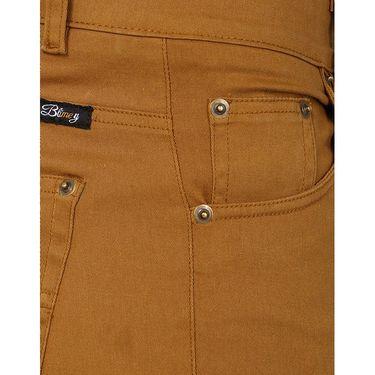 Blimey Slim Fit Cotton Chinos_Bf08 - Khaki