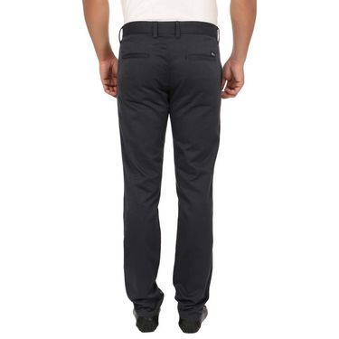 Pack of 2 Blimey Slim Fit Cotton Chinos_Bf24 - Dark Grey & Black