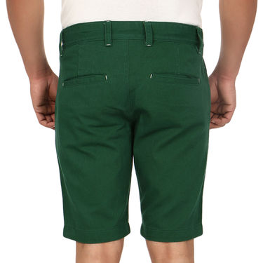 Pack of 2 Blimey Regular Fit Cotton Shorts_Bf53 - Brown & Green
