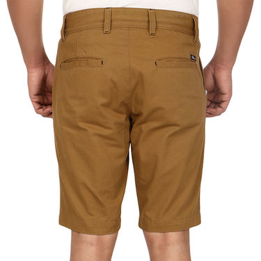 Pack of 2 Blimey Regular Fit Cotton Shorts_Bf54 - Brown & Black