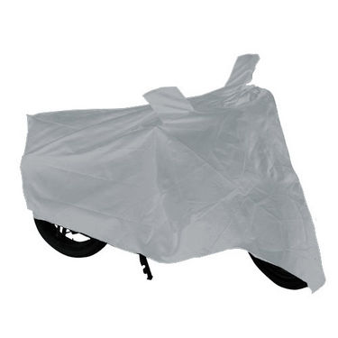 Bike Body Cover for Honda CB Trigger - Silver