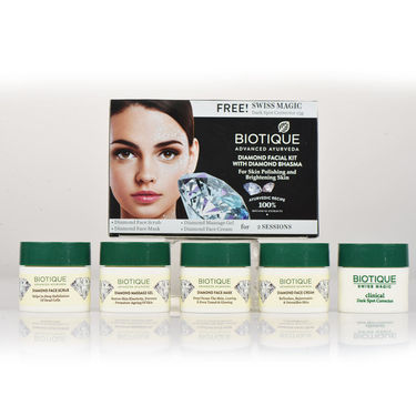 Biotique 3 in 1 Jewel Beauty Facial Combo