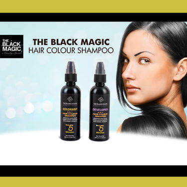 The Black Magic Hair Color Shampoo