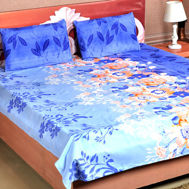 Blooming Floral Pack of 5 Cotton Rich Bedsheets (5BS6)