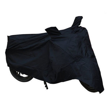 Bike Body Cover for Bajaj Platina - Black