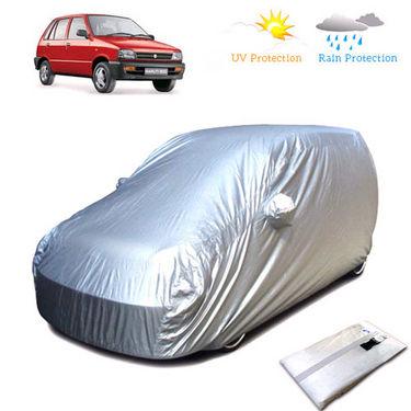 Body Cover for Maruti Suzuki 800 - Silver