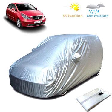 Body Cover for Tata Indica Vista - Silver