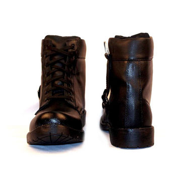 Real Red Boots for Men - Black-4156