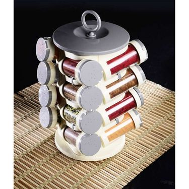 Branded Revolving 16 Pcs  Masala Rack