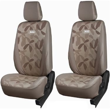 Branded Printed Car Seat Cover for Maruti CELERIO - Beige