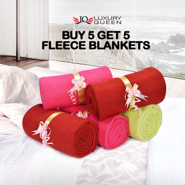 Buy 5 Get 5 Fleece Blankets (5FB17)