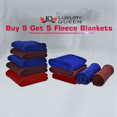 Buy 5 Get 5 Fleece Blankets
