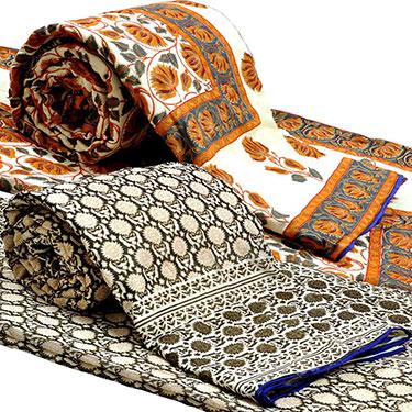 Set of 2 Little India Designer Printed Double Bed Comforter- DL3COMB161