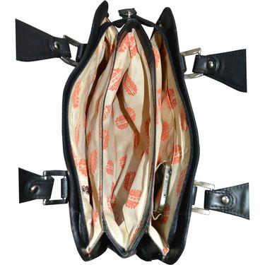 Arpera Black Ladies Handbag Ssa17