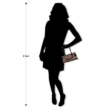 Arpera Genuine Leather Handbag C11447-1B -Black