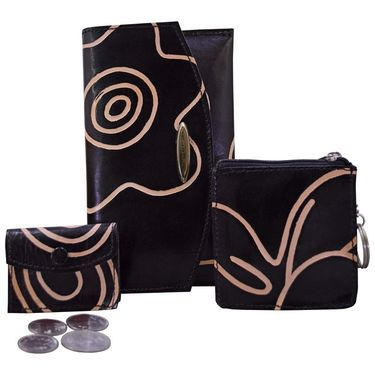Arpera Black Ladies Wallet Ssa08
