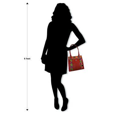 Arpera red Ladies Handbag Ssa14
