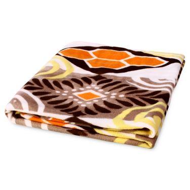 Storyathome Set of 2 Designer Printed Double Fleece AC Blanket-CA1209-CA1209