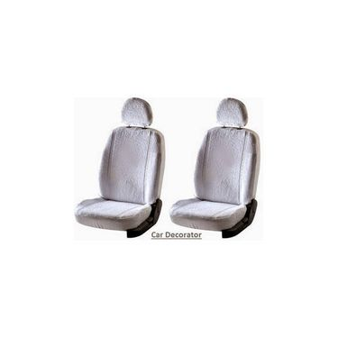 Car Seat Cover For Soda Fabian - White - CAR_1SC1WHT254