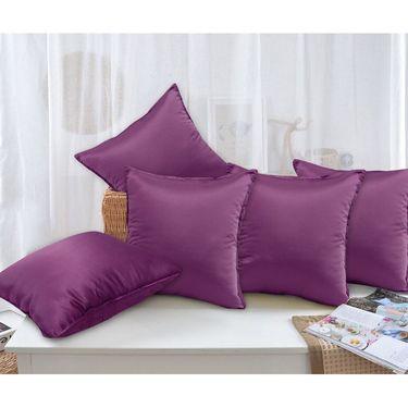 Set of 5 Plain Cushion Cover -CH1106