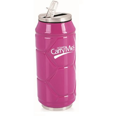 CarryMe Stylo Sports Thermo Can 400 ml - Pink