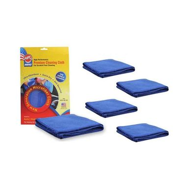 Microfiber Car Cleaning Cloth CT-210(Set Of 5)- CT-210