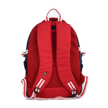 Be for Bag Poly Canvas Backpack Red -Caleb