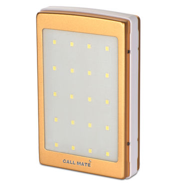 Callmate 10000 mAh Solar Power Bank with Emergency Lights