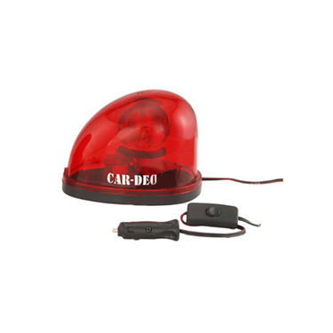 Car-Dec VIP Light Oval - Red