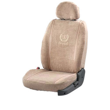 Car Seat Cover For Skoda Fabia - Beige