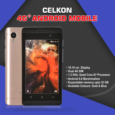 Celkon 4G+ Android Mobile