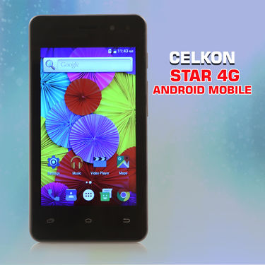 Celkon Star 4G Android Mobile