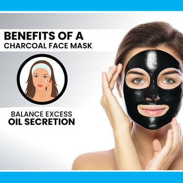 Charcoal Peel Off Mask with Face Wash