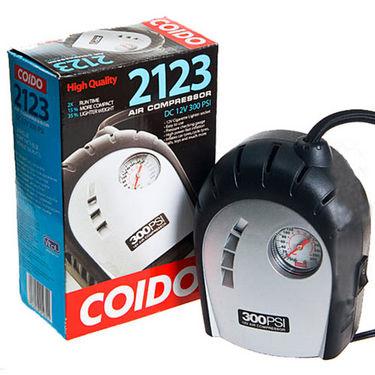 Coido 2123 Car Auto 12v Electric Air Pump Inflator