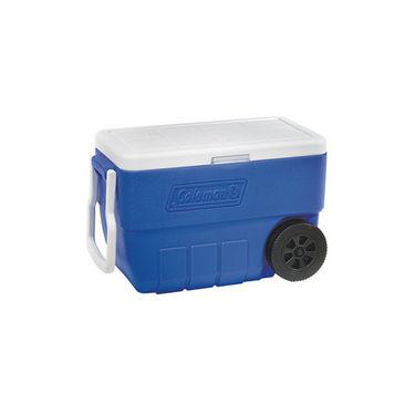 Coleman 50 QT (47L) Wheeled Cooler Blue