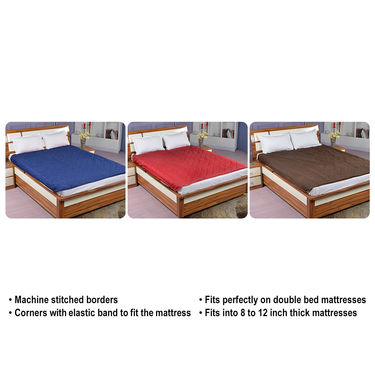 Coloured Mattress Protector