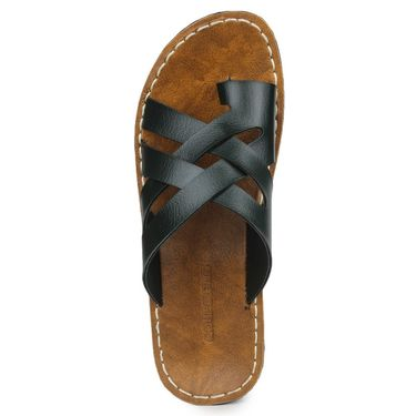 Columbus Synthetic Leather Green Sandals -2703